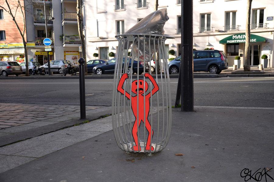 Please, help me by Oakoak - Paris, France, 2014