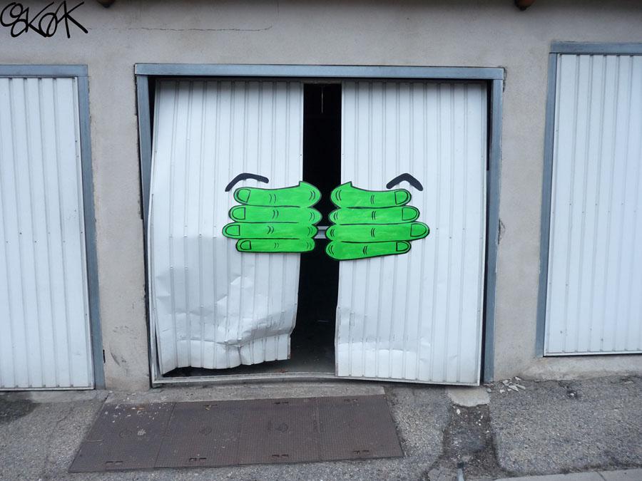 Hulk by Oakoak - 2011