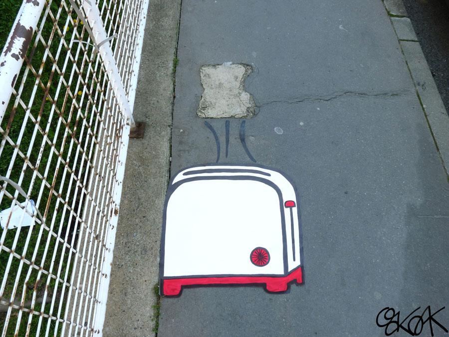 Toasterre by Oakoak