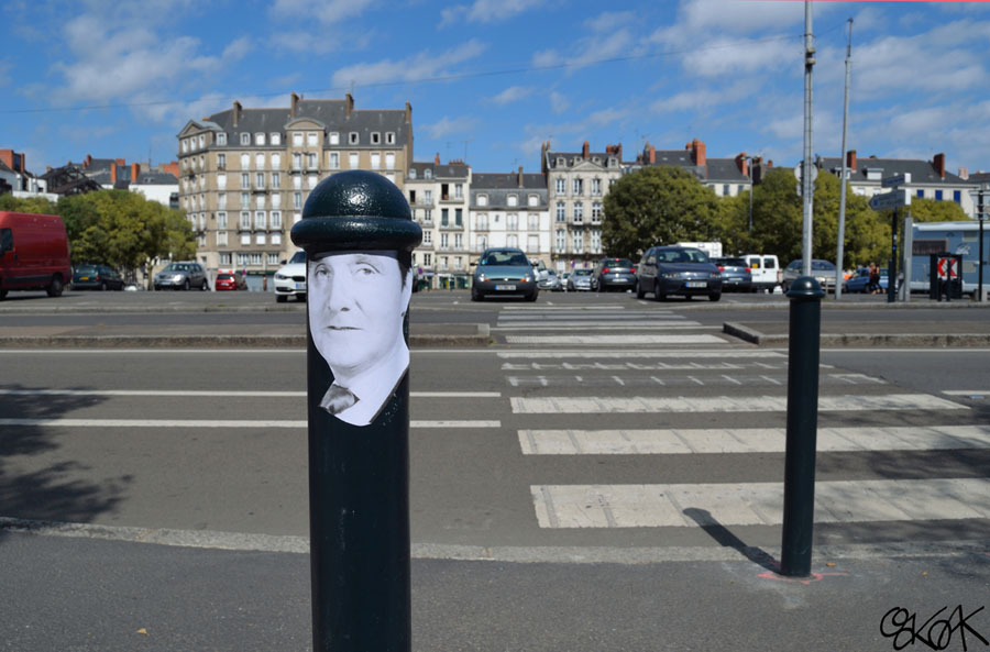 John Steed by Oakoak - Nantes, France, 2012