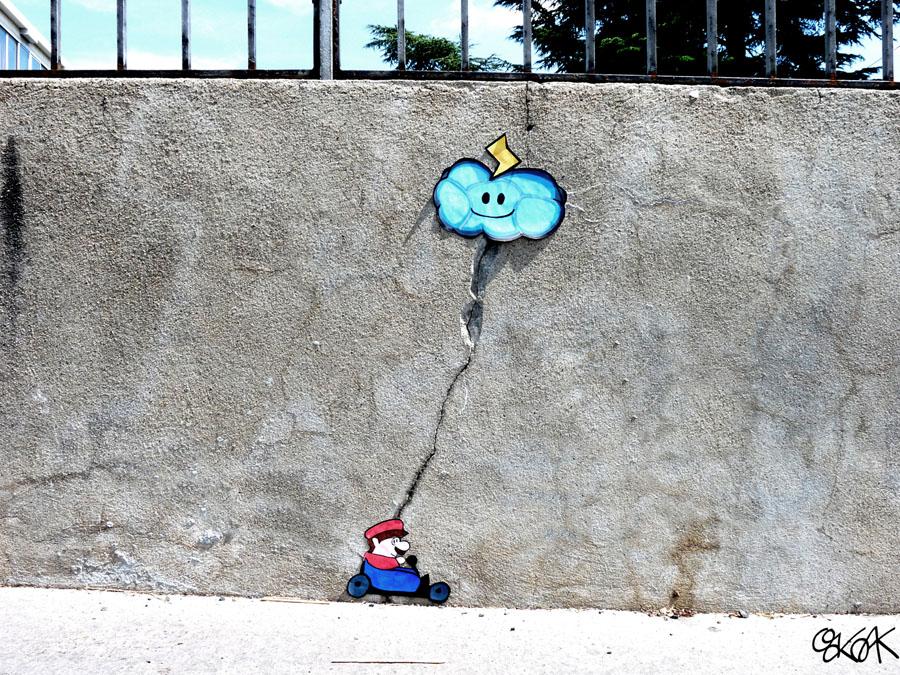 Mario Kart by Oakoak