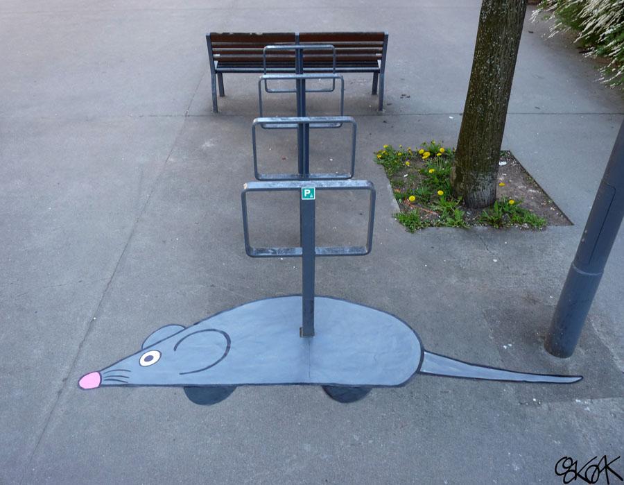 Mechanical mouse by Oakoak - 2011