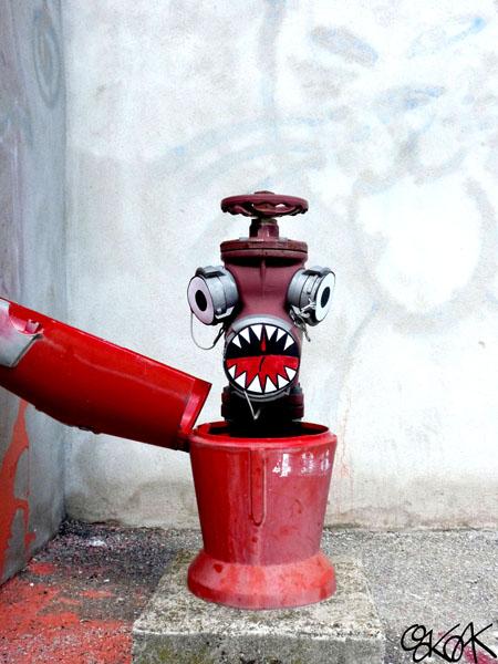 Fire Hydrant n°2 by Oakoak