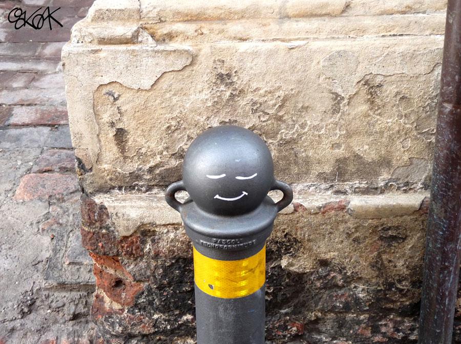 Happy monk by Oakoak - Italia