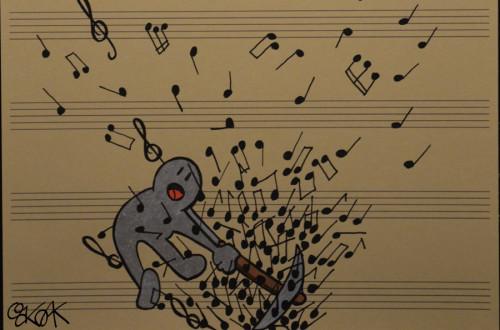 Life is music by Oakoak