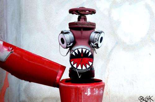 Oakoak - Street artist