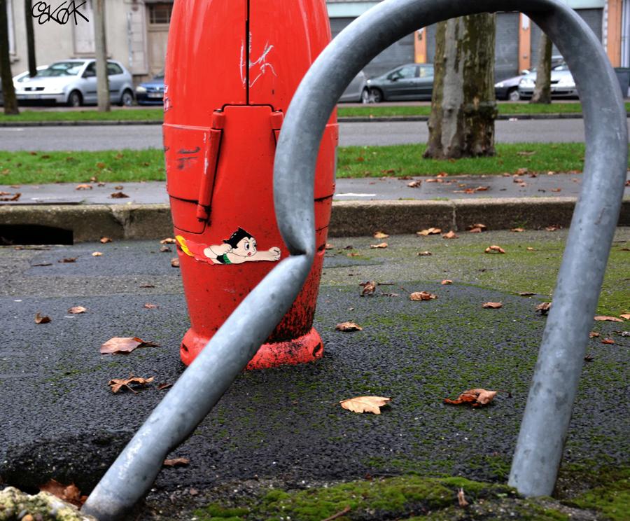 Astroboy by Oakoak - France 2014