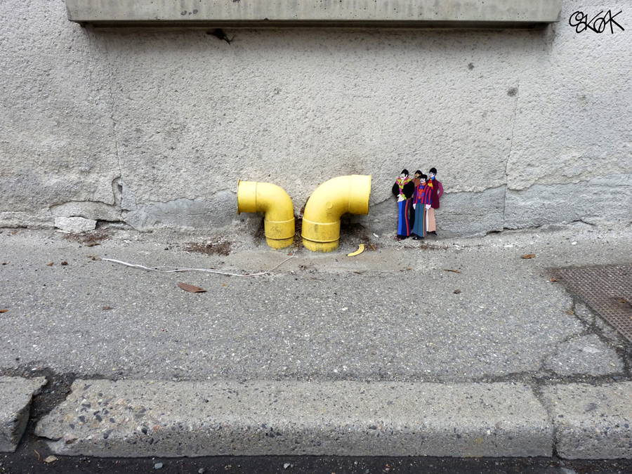 Yellow Submarine by Oakoak - France 2015
