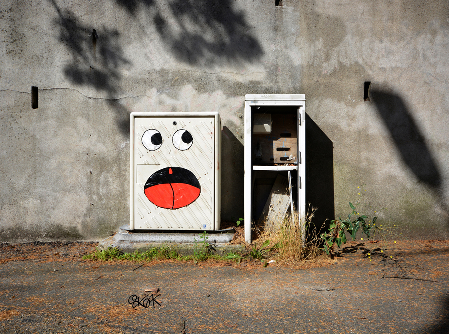 Oh!! Where are You? by Oakoak - Saint Etienne, France, Juillet 2015