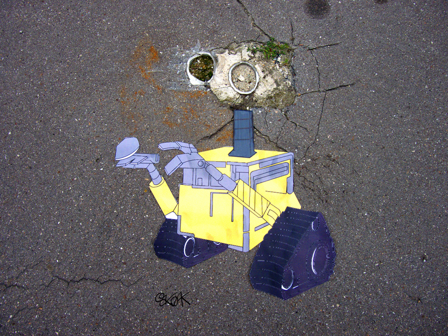 Wall-E by Oakoak - France, Septembre 2015