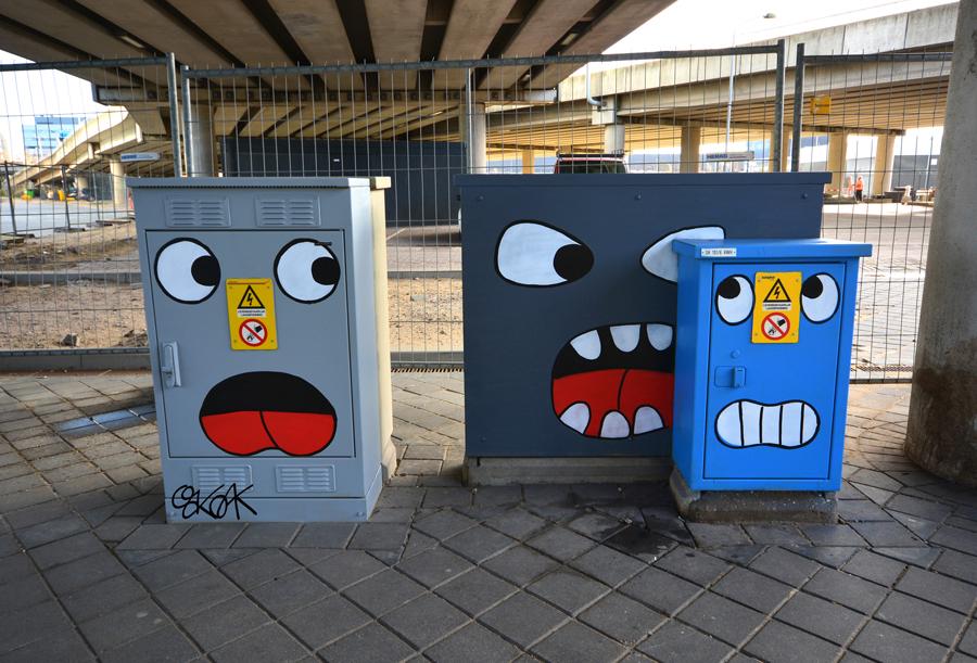 Noooo !!! by Oakoak - Amsterdam, Novembre 2015