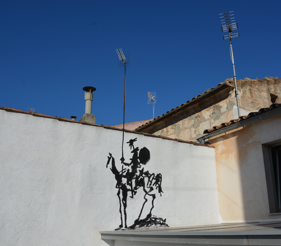 Don Quichotte by Oakoak - Mallorca, July, 2017