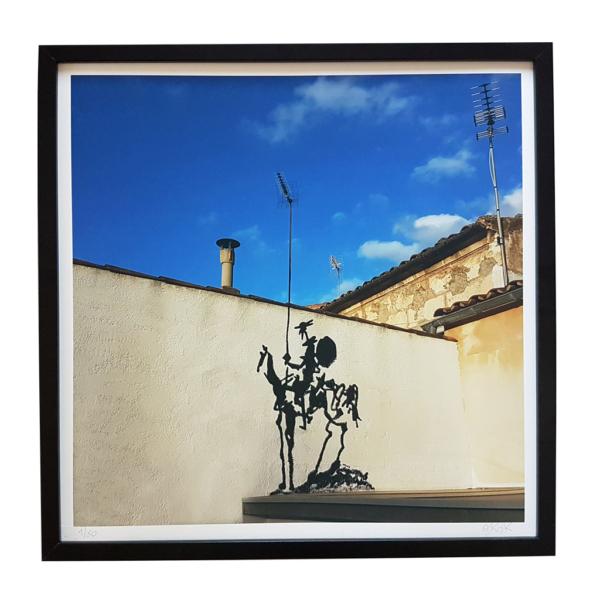 Print Don Quichotte by Oakoak