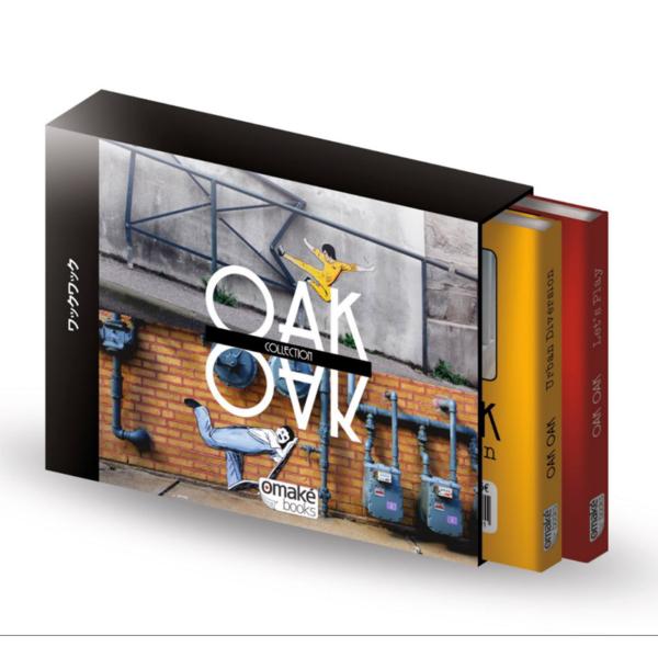 Coffret livres Oakoak - série limitée