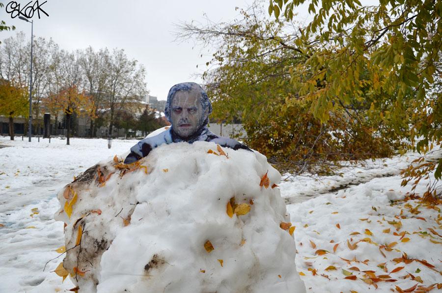 Frozen shining by Oakoak - France 2012