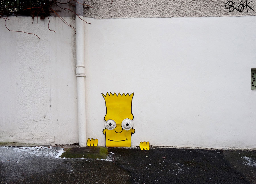 Bart Simpson by Oakoak - 2010