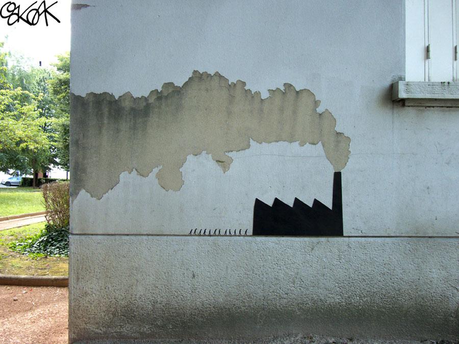 The factory by Oakoak - France 2012