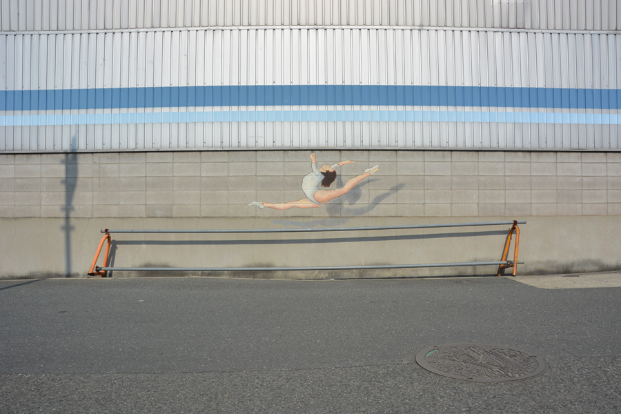 The gymnast by Oakoak - Osaka, Japan, 2017