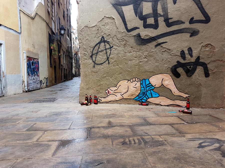 hard night in barcelona
