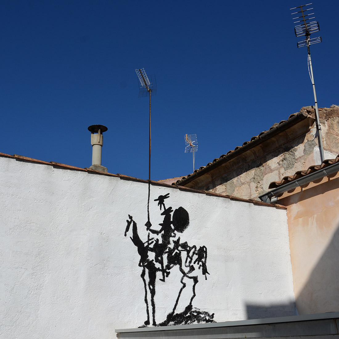 Don Quichotte - Mallorca - July 2017 by Oakoak