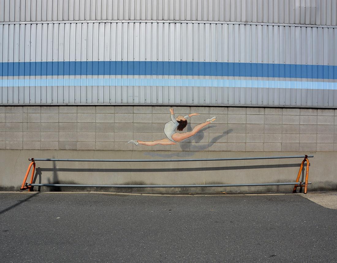 Gymnaste - Japon - by Oakoak