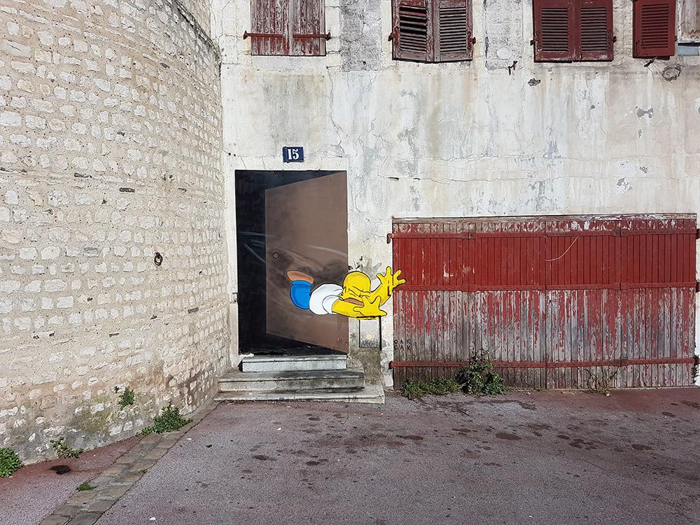 Homer Simpson - Bayonne