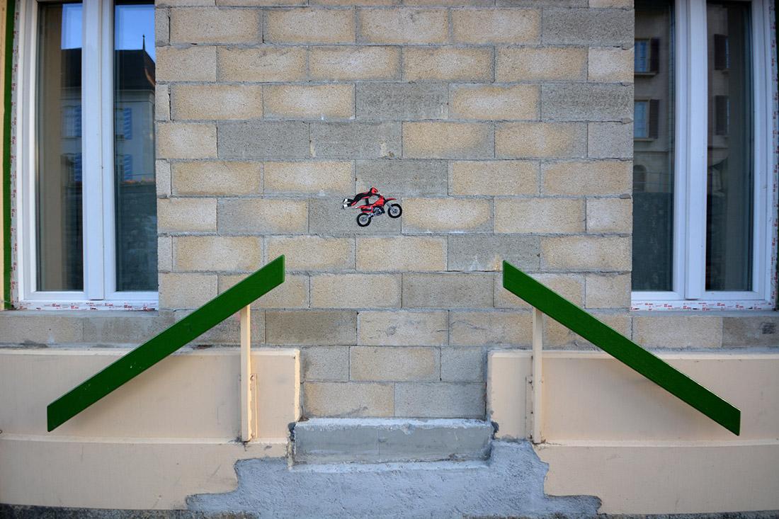 The jump by Oakoak
